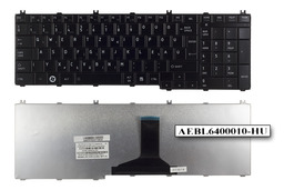 Toshiba Satellite C650, C660, L650, L750 gyári új magyar fényes fekete laptop billentyűzet (AEBL6400110-HU)