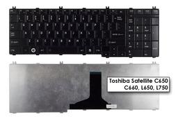 Toshiba Satellite C650, C660, L650, L750 gyári új US angol fényes laptop billentyűzet