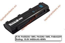Toshiba Satellite L850 laptop akkumulátor, használt, 6 cellás (4400mAh)