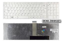 Toshiba Satellite C855 fehér magyar laptop billentyűzet
