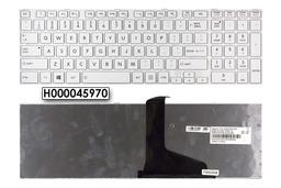 Toshiba Satellite C850, C870, L850, L870 US angol fehér laptop billentyűzet, H000045970