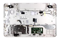 Toshiba Satellite C855, C855D gyári új fehér laptop felső fedél hangszóróval, touchpaddal (H000038640, H000051000)