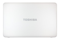 Toshiba Satellite C870 gyári új fehér laptop LCD hátlap (H000038030)