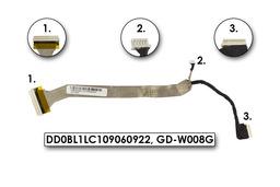 Toshiba Satellite L30, L35 laptophoz használt kijelző kábel (DD0BL1LC109060922)