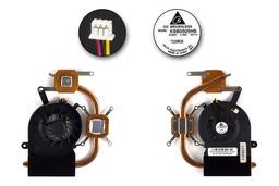 Toshiba Satellite L30, L35, Qosmio F30 használt laptop hűtő ventilátor (KSB0505HB)