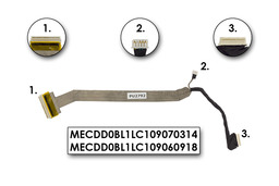Toshiba Satellite L30 laptophoz használt LCD kábel (MECDD0BL1LC109070314)