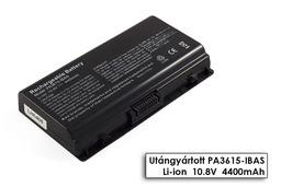 Toshiba Satellite L40, L401, L45 helyettesítő új 6 cellás laptop akku/akkumulátor (PA3615U-1BRS)