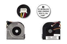 Toshiba Satellite L40, L45 használt laptop hűtő ventilátor (UDQFLZH09DAS, 13GNQA10M120)