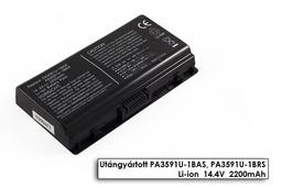 Toshiba Satellite L40, L45, Satellite Pro L40 helyettesítő új 4 cellás laptop akku/akkumulátor (PA3591U-1BRS)