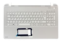 Toshiba Satellite L50-B gyári új magyar fehér laptop billentyűzet modul (A000301250, AEBLI400020)