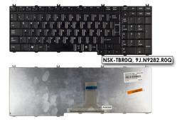 Toshiba Satellite L500, L500D használt magyar fekete laptop billentyűzet, NSK-TBR0Q