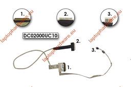Toshiba Satellite L500, L505 sorozat használt laptop LED LCD kábel, DC02000UC10