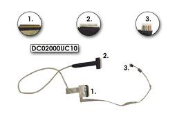 Toshiba Satellite L500, L505 sorozat gyári új laptop LED LCD kábel, DC02000UC10