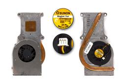 Toshiba Satellite M40X laptophoz használt komplett hűtő ventilátor egység (ATZKM000100)