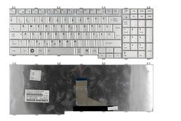 Toshiba Satellite L500 ezüst magyar laptop billentyűzet