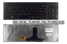 Toshiba Satellite P775 fekete magyar laptop billentyűzet