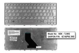 Toshiba Satellite T210, T215 gyári új magyar ezüst laptop billentyűzet (K000096240)