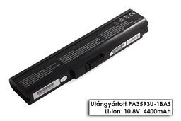 Toshiba Satellite U300, U305, Portege M600 helyettesítő új 6 cellás laptop akku/akkumulátor (PA3593U-1BRS)