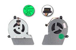 Toshiba Satellite U900, U940, U945 gyári új laptop hűtő ventilátor (DC28000C6A0, AB07505HX07KB00, 0CWVCUAA)