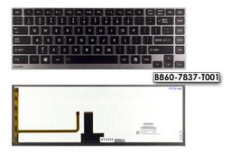 Toshiba Satellite U920T fekete US angol laptop billentyűzet