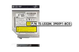 TSST használt PATA laptop Lightscribe DVD-író (TS-L532M)