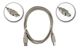 USB A apa - B apa 1.8m összekötő kábel, WU4AE