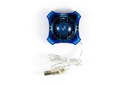 WireTek USB HUB 4db USB 2.0 porttal, CK0042E