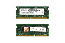 Viking 128MB SDRAM 133MHz használt laptop memória (VI8BU166436DTD-MD)