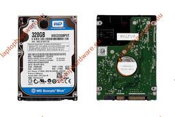 Western Digital 320GB SATA használt laptop Winchester, WD3200BPVT