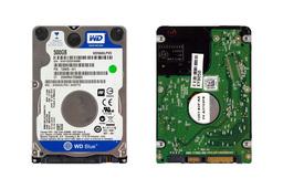 Western Digital 500GB SATA3 (7mm vékony), használt laptop winchester (WD5000LPVX, 726835-001)