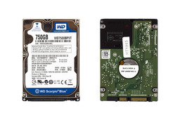 750GB 5400RPM 2,5'' SATA (6Gbit/s) gyári új laptop winchester, HDD