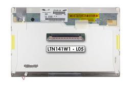 WXGA 1280 x 800 CCFL használt B kategóriás MATT laptop kijelző, LTN141W1-L05