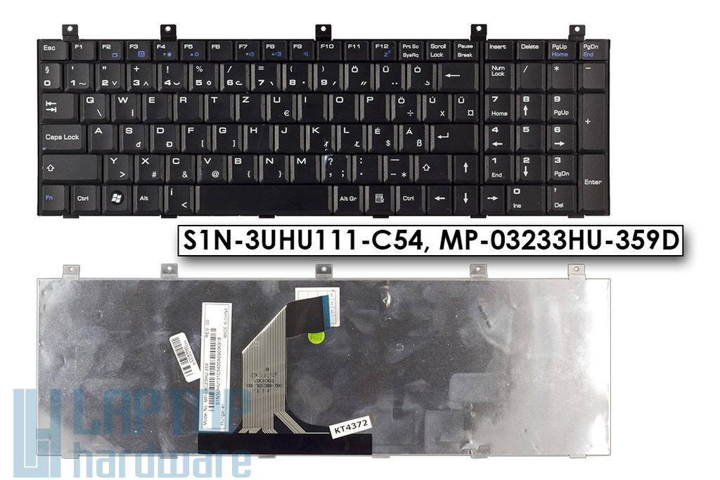 MSI CR610X, CX600, EX600, GX700 használt magyar laptop billentyűzet, MP-08C23HU-359