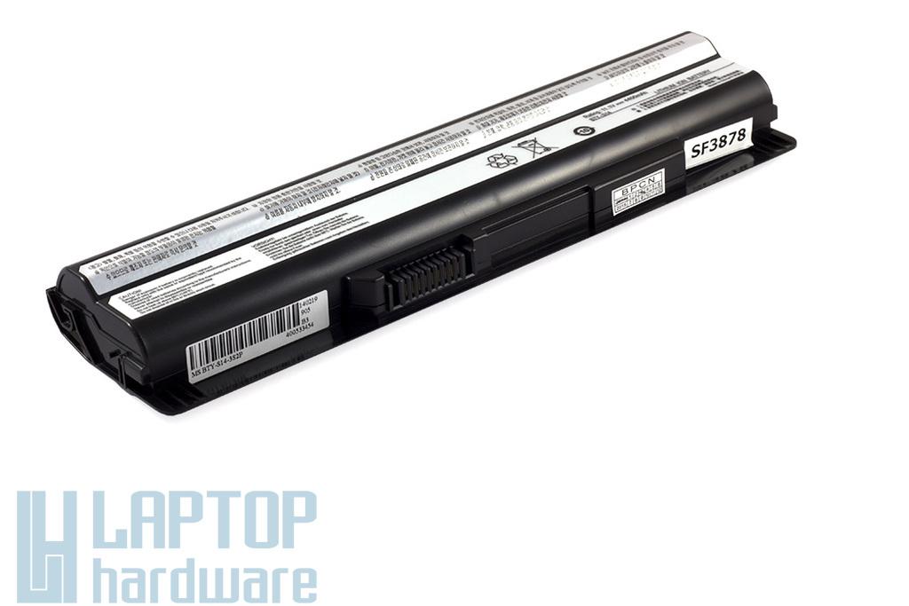 MSI CR650, CX650, FX600 6 cellás használt 80%-os helyettesítő laptop akku/akkumulátor (BTY-S14, BTY-S15)