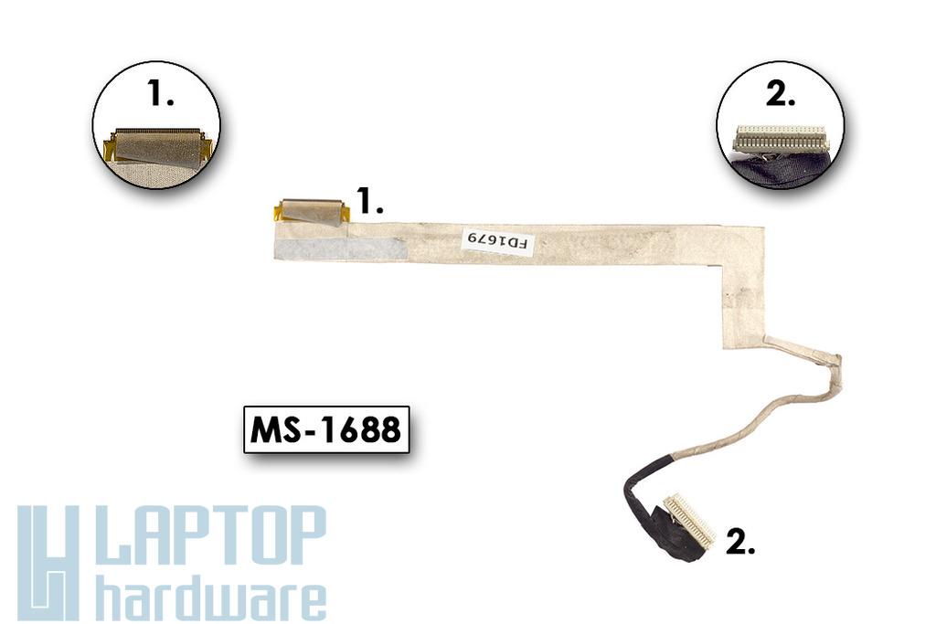 MSI CX620 használt kijelző kábel (MS-1688)