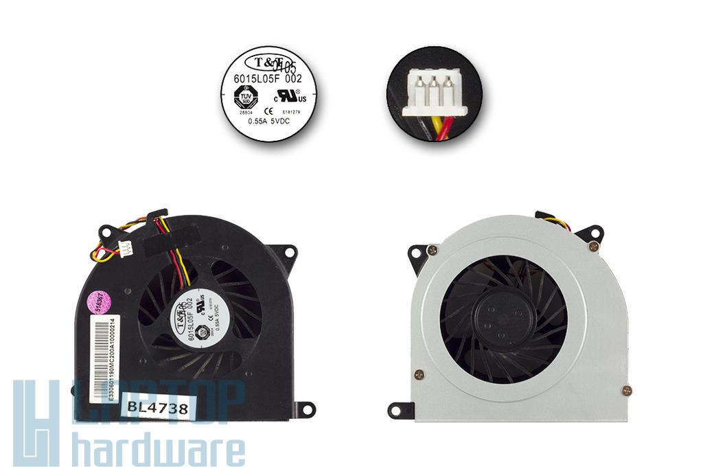 MSI CX705, MS-1737 használt hűtő ventilátor, 6015L05F 002