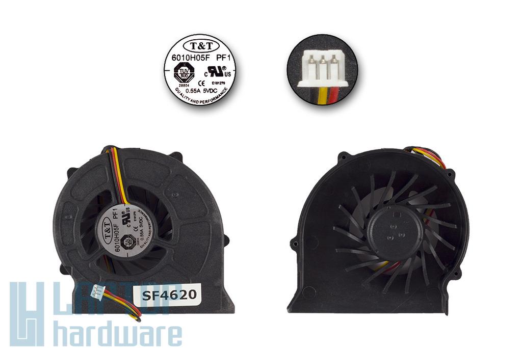 MSI EX600, VR600, EX600 gyári új laptop hűtő ventilátor (6010H05F PF1)
