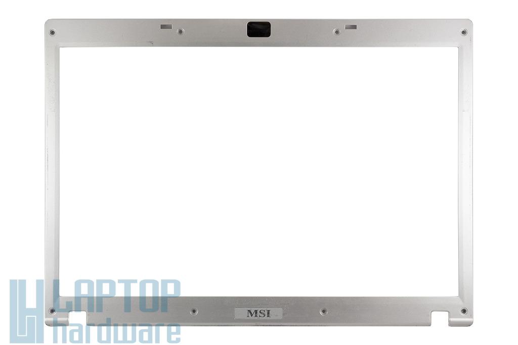 MSI GX610, M670, MS-1034, VR610, VR610X laptophoz használt LCD keret (E2P-632B124-Y31)