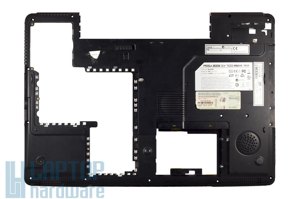 MSI GX700-MS1719 laptophoz használt alsó fedél (307-714D421-SE0)