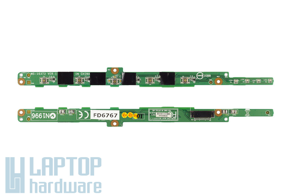 MSI GX700-MS1719 laptophoz használt bekapcsoló panel (MS-10373)