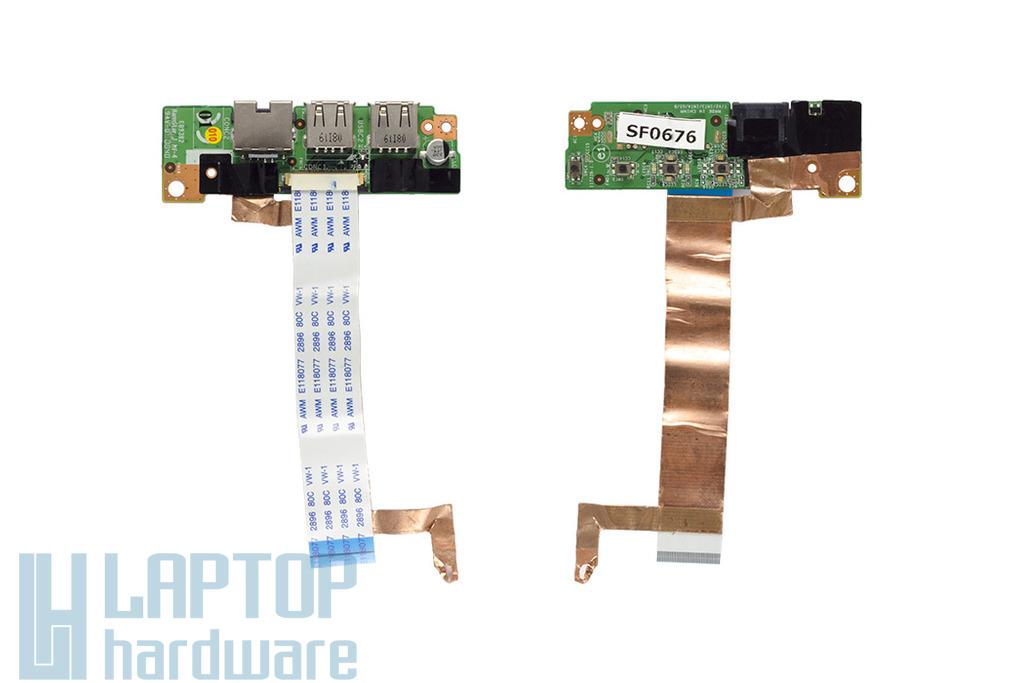 MSI GX720 laptophoz használt USB és LAN port kábellel (11722B-1.0)