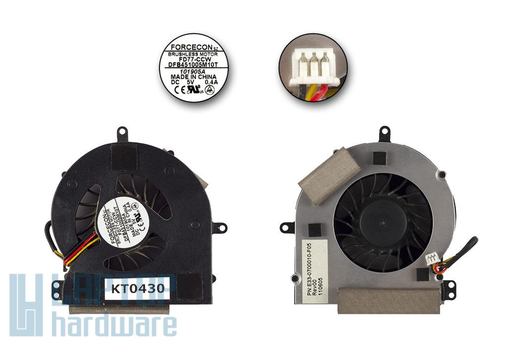 MSI M645, MS-1029 használt hűtő ventilátor, E33-0700010-F05