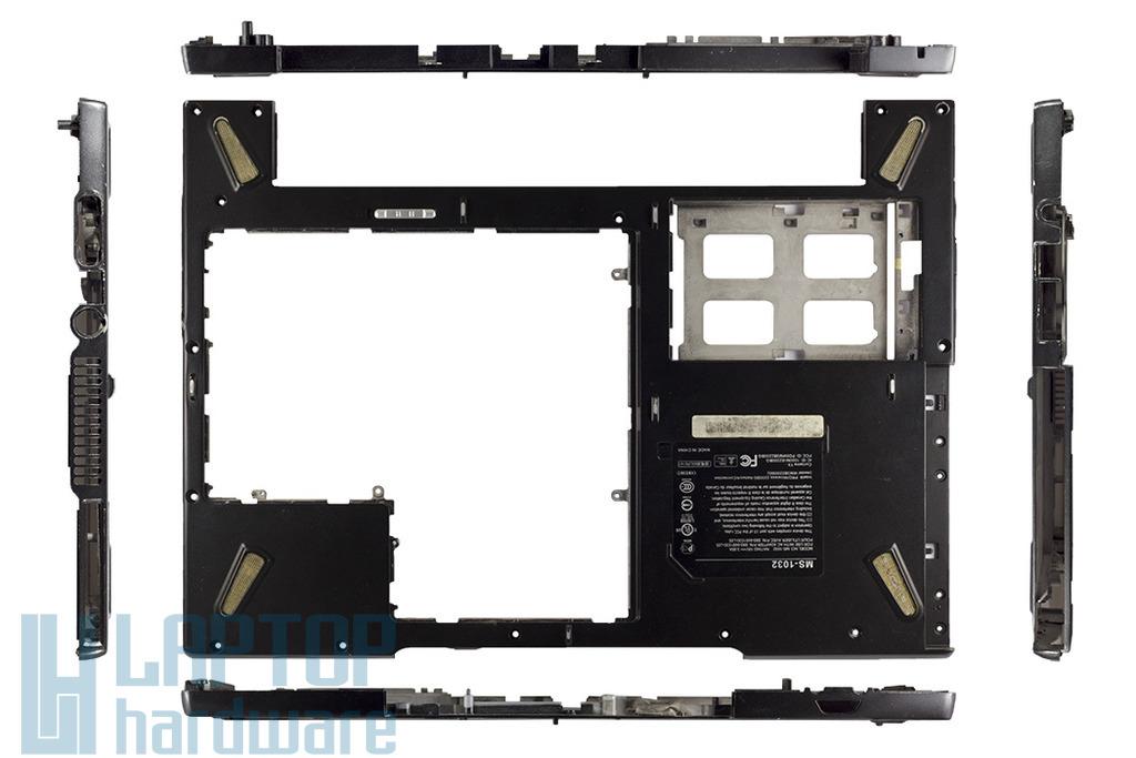 MSI M645, MS-1032 laptophoz használt alsó fedél, 307-1032-070