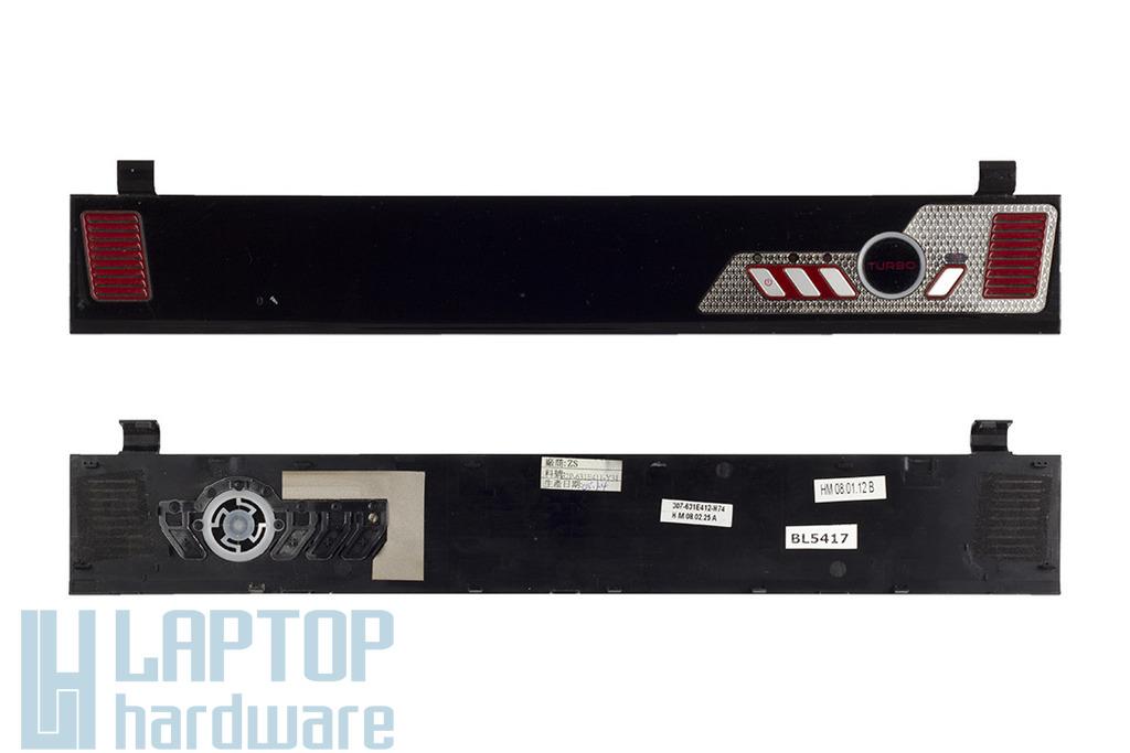 MSI Megabook GX600 laptophoz használt bekapcsoló és zsanér takaró panel (307-631E412-H74)