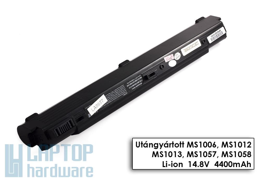 MSI MegaBook S250, PR200,  S300 helyettesítő új 8 cellás laptop akku/akkumulátor (BTY-S27)