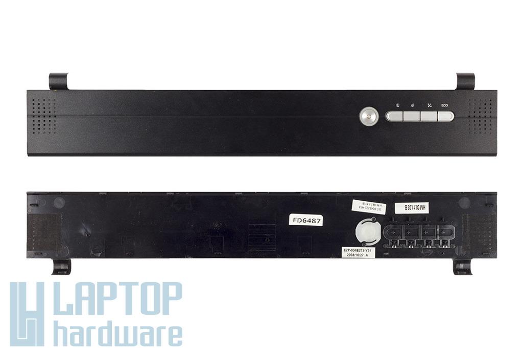 MSI VR602X laptophoz használt bekapcsoló panel és zsanér fedél (307-634E222-H74)