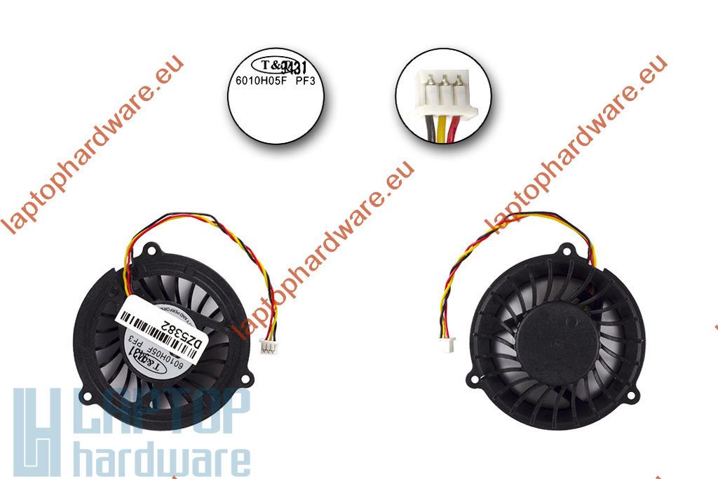 MSI GX610PX laptophoz gyári új CPU hűtő ventilátor (6010M05F PF1)