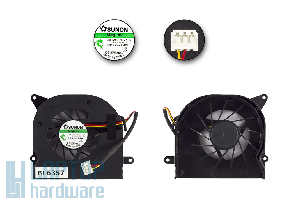 MSI Wind Top AE2220 gyári új hűtő ventilátor (GB1207PGV1-A)