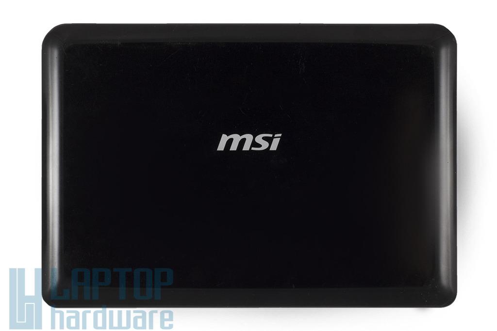 MSI Wind U100 laptophoz használt LCD hátlap (307-012A213-P89)