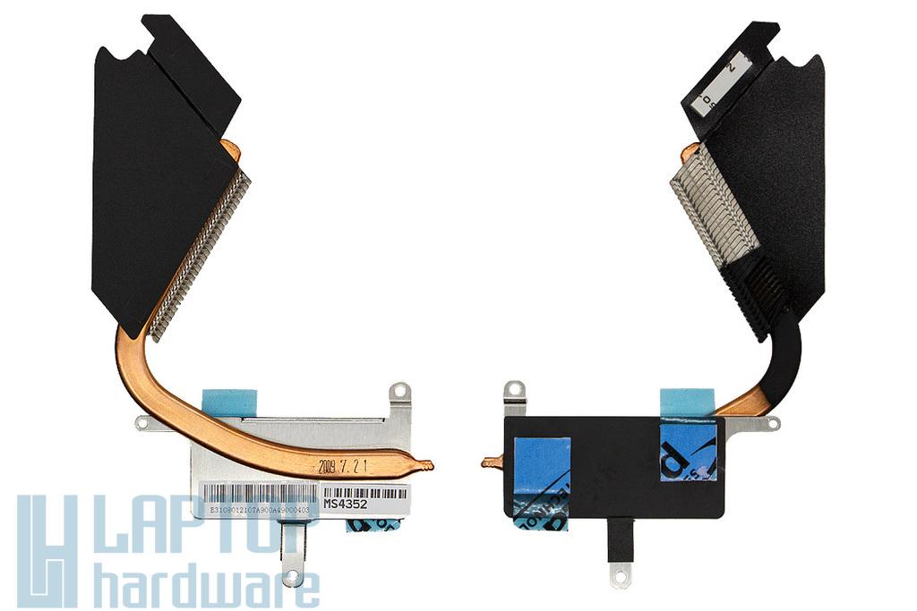 MSI X340 gyári új laptop hűtőborda (E31-0801210-TA9)